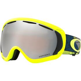 Oakley Canopy Snow Goggles prizmatic retina poseidon/prizm snow black iridium